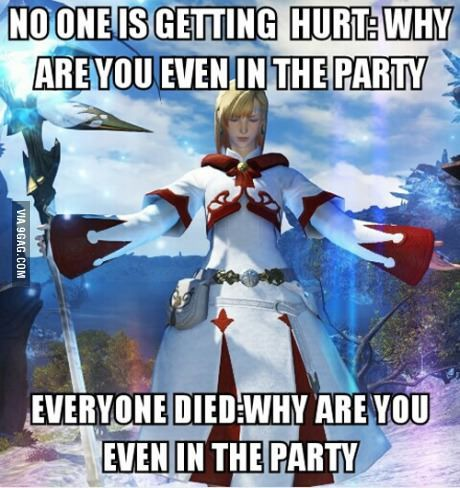Being A White Mage Geekdom Pinterest Final Fantasy Final