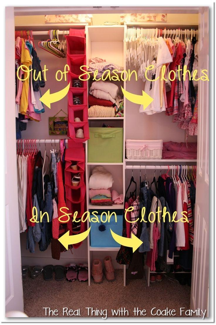 Kid Closet Organization Ideas Part - 35: Kids Closet {Organizing Ideas