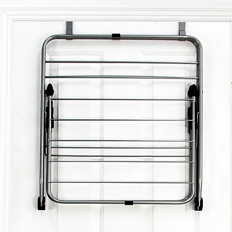 This Convenient Over The Door Drying Rack From Samsonite Features 16  Heavy Duty