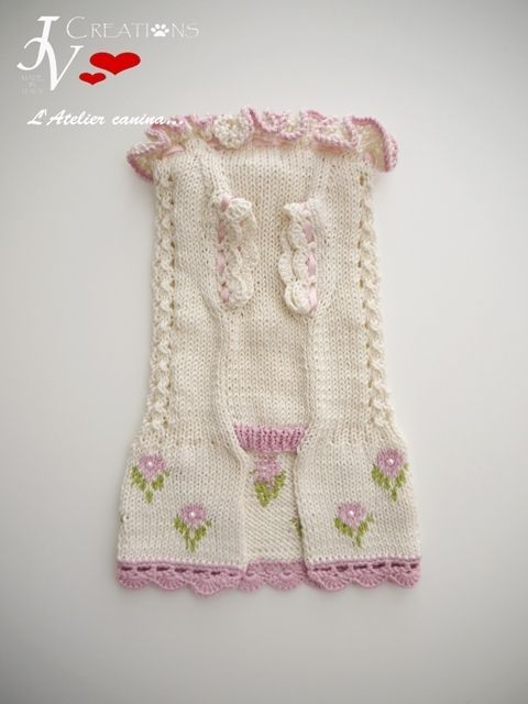 Dress Peach Flowers | KNITTING DOG SWEATERS | Pinterest | Ropa para ...