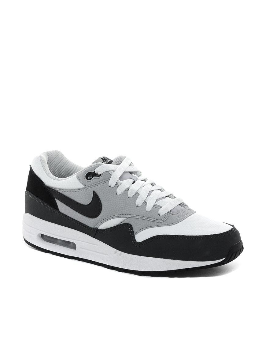 Nike Air Max 1 Trainers Black | Mainline Menswear