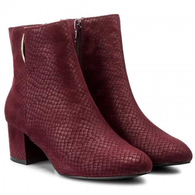 Magasított cipő JENNY FAIRY - LS4253-01 Bordó  5c0996c94c