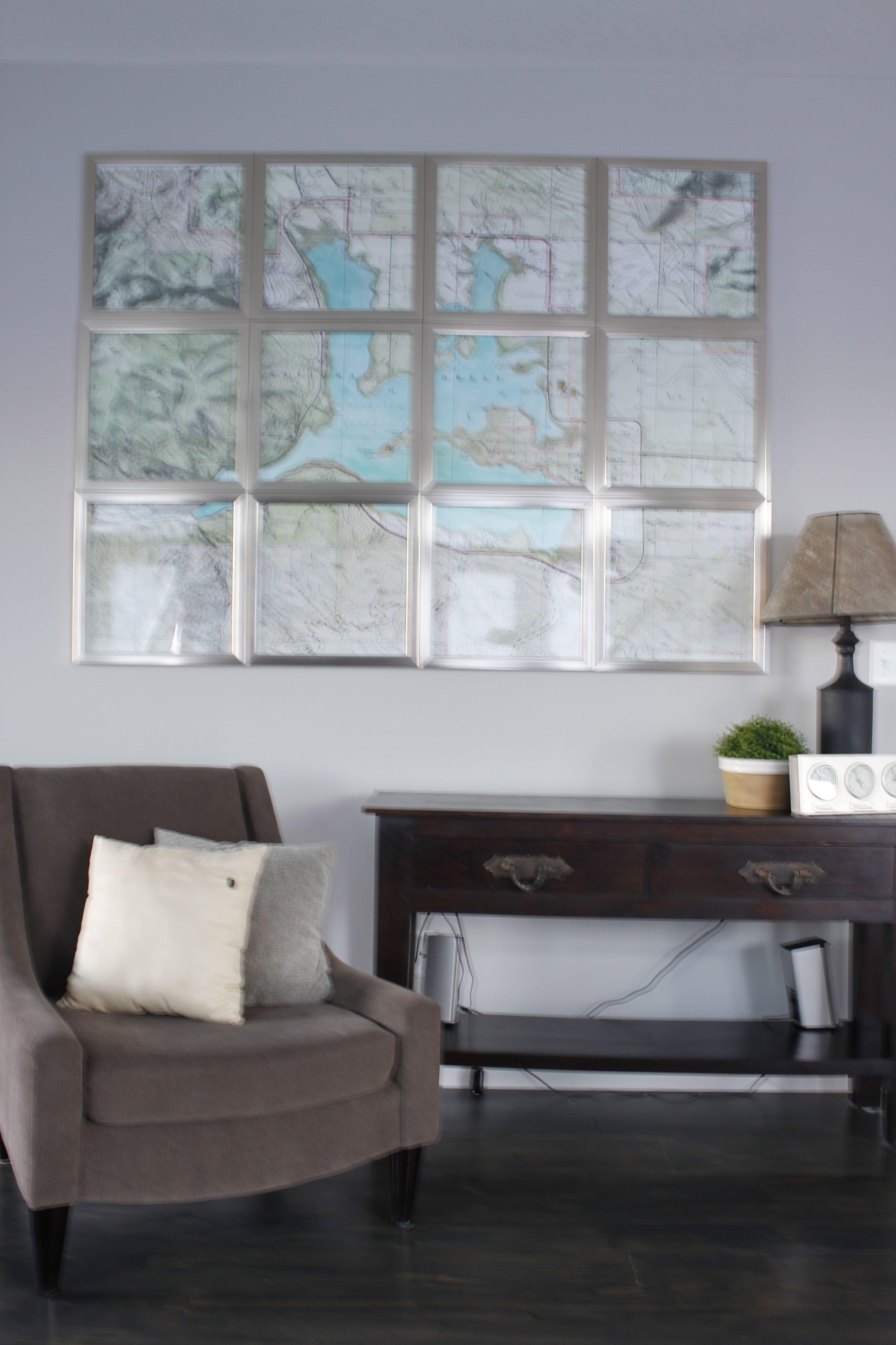 Martha Stewart Living Room Furniture Martha Stewart Idea Multiple Frames Housing One Map This One Is