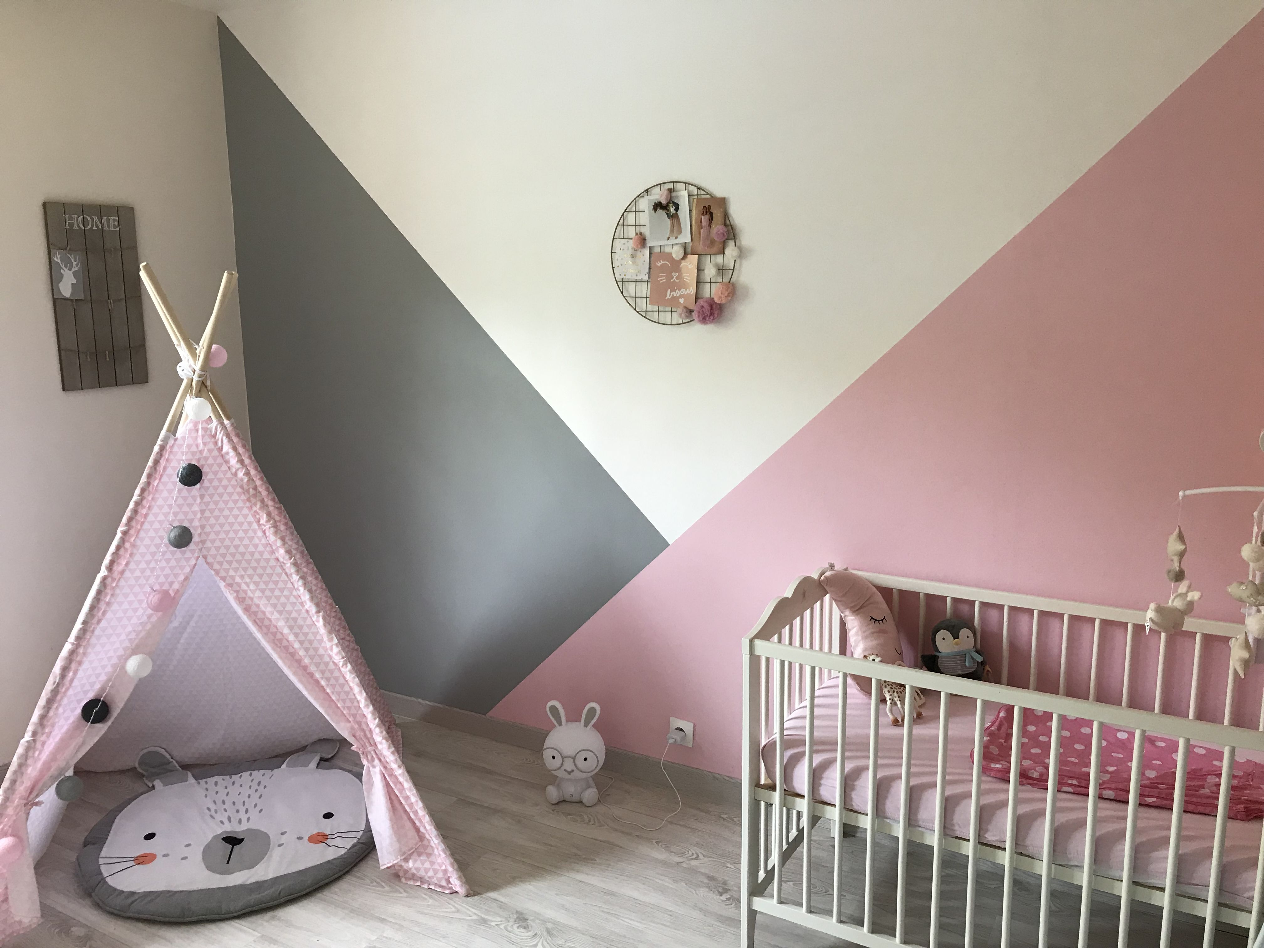 Chambre bébé fille  Chambre bébé, Déco chambre bébé, Chambre bébé