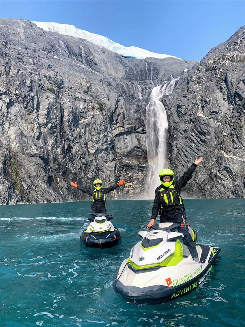Jet ski helicopter to glaciers go north episode 16