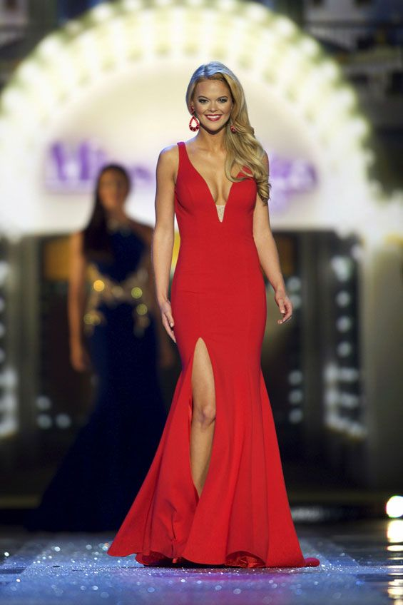 Miss Louisiana April Nelson Evening Gown: HIT or MISS? | Pageant ...