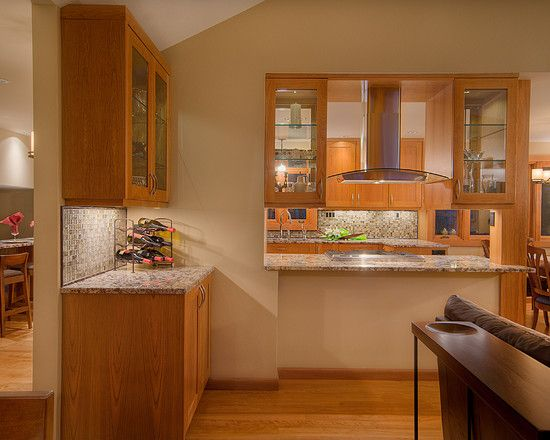 Contemporary Kitchen Kitchen Pass Through Design Pictures Remodel Decor And Ideas Page 2