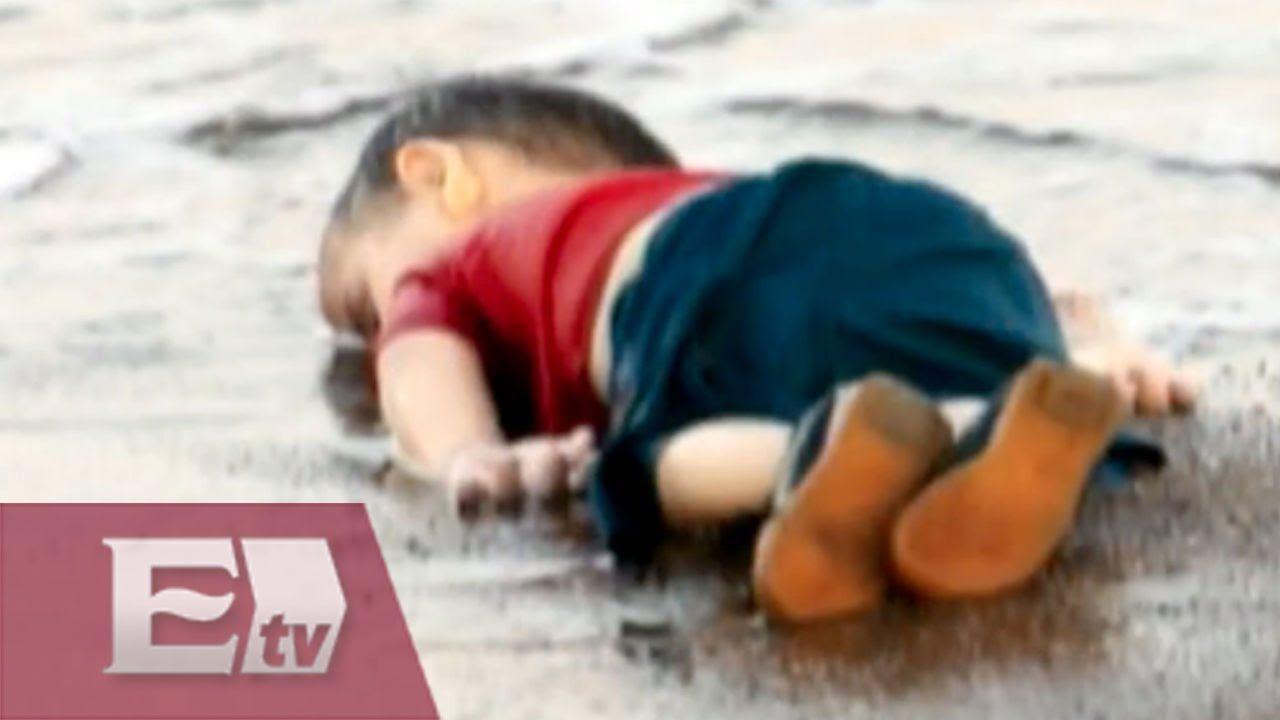 Las fuertes fotos del niño ahogado en playa de Turquía / Entre mujeres