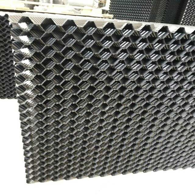Standard Fill Sheet Thickness 0 32 Mm Pvc Cooling Tower Fillers