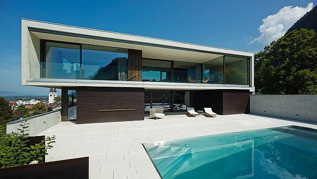 Haus am Hang by architekturterminal/hackl und klammer Haus