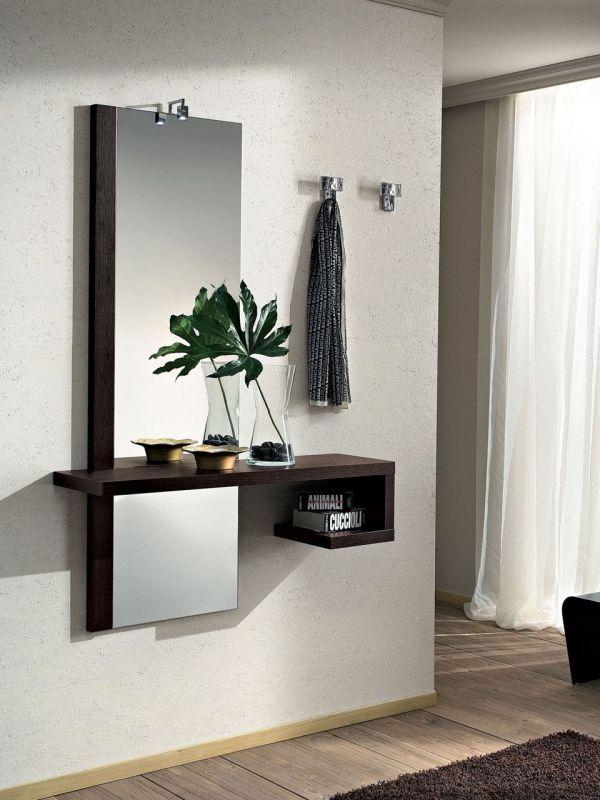 Mobile ingresso con specchiera e consolle mod alba for Mobili spa