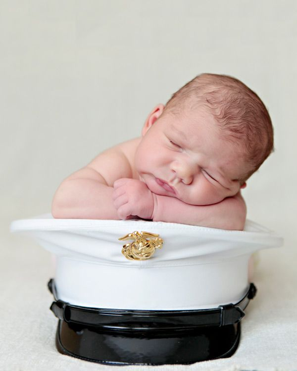 Marine Newborn Photography