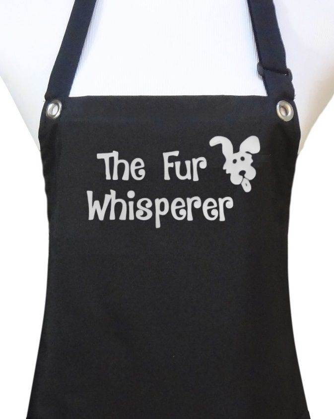 Great Gift Ideas For Dog Groomers From Trendy Salon Aprons Groomer