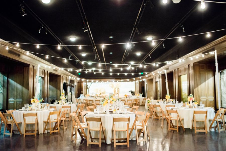 Los Angeles Night at the Museum Wedding