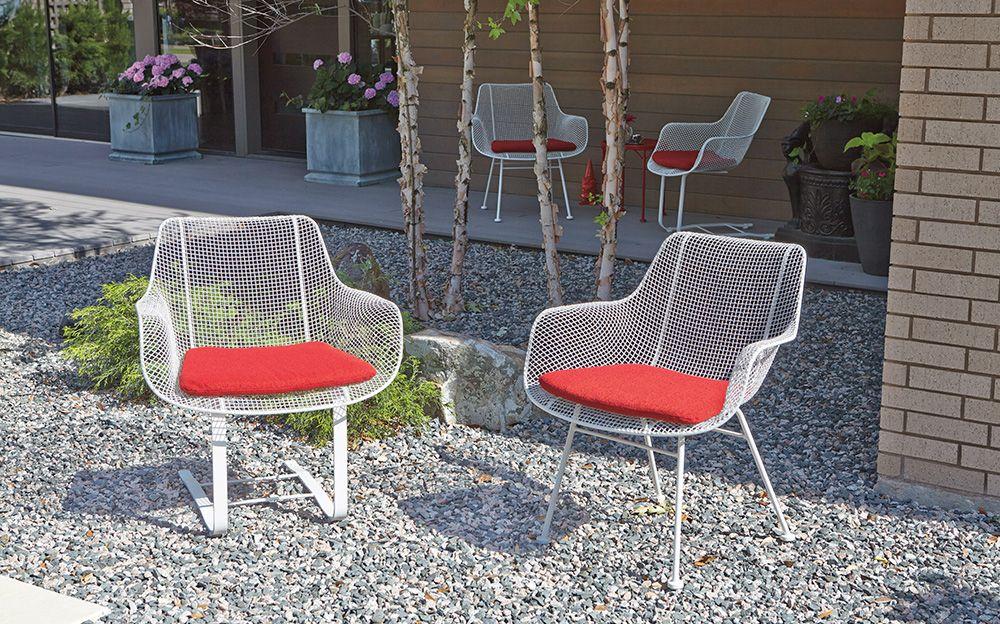 Lounge chair jill wrought iron modern outdoor chairs