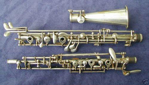 metal oboe | Music | Oboe, Clarinet, Musical instruments
