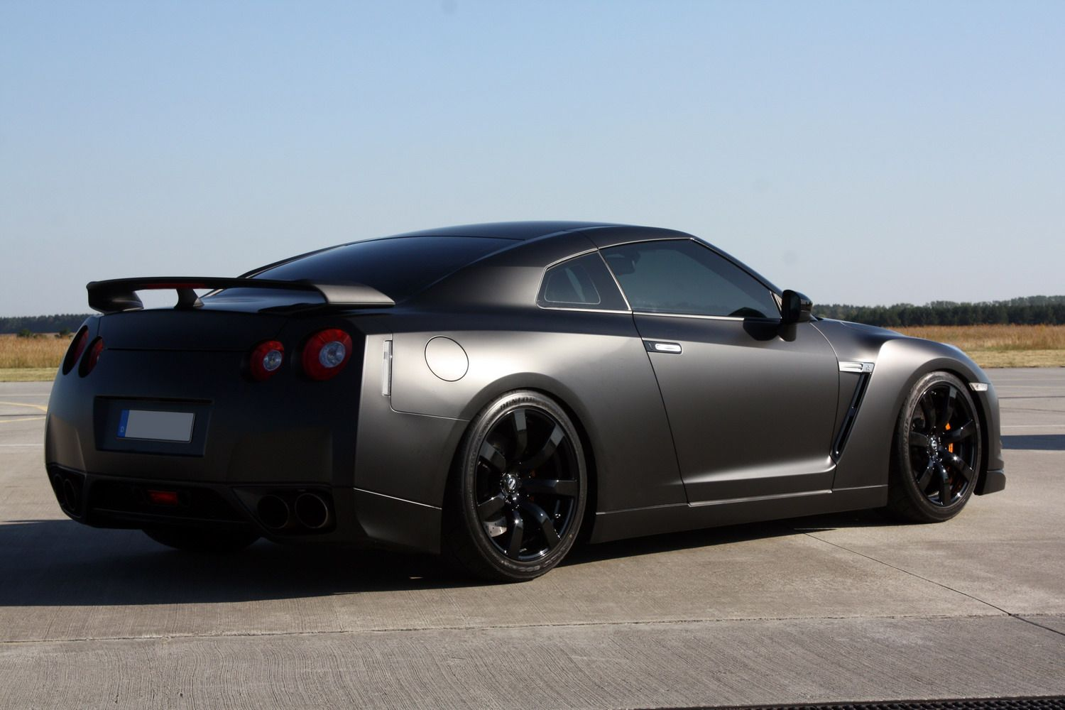 Delicieux Nissan GTR Black Edition I Really Want This Car!