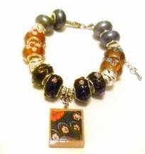The Beatles European Charm Bracelet