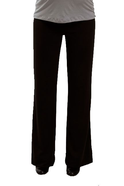 15d87f68aa140 Gabby Black Ponte Trouser Work Pants by Everly Grey | Maternity Clothes  Best selection of professional maternity clothes! available at Due  Maternity ...