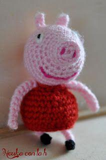 Ravelry: Peppa Pig Amigurumi pattern by Sabrina Boscolo | 320x212