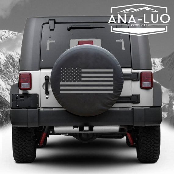 American Flag Tire Cover By Analuo On Etsy Jeep Wrangler