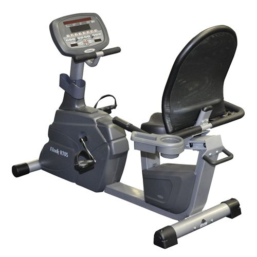 The Fitnex Light Commercial Recumbent Bike Is A Heavy Duty Well Built Bike Recumbent Bikes Are Typic Recumbent Bike Workout Biking Workout Exercise Bikes