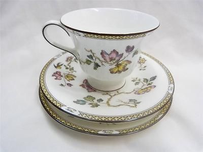 Wedgwood Swallow Pattern   Cup Saucer Side Plate