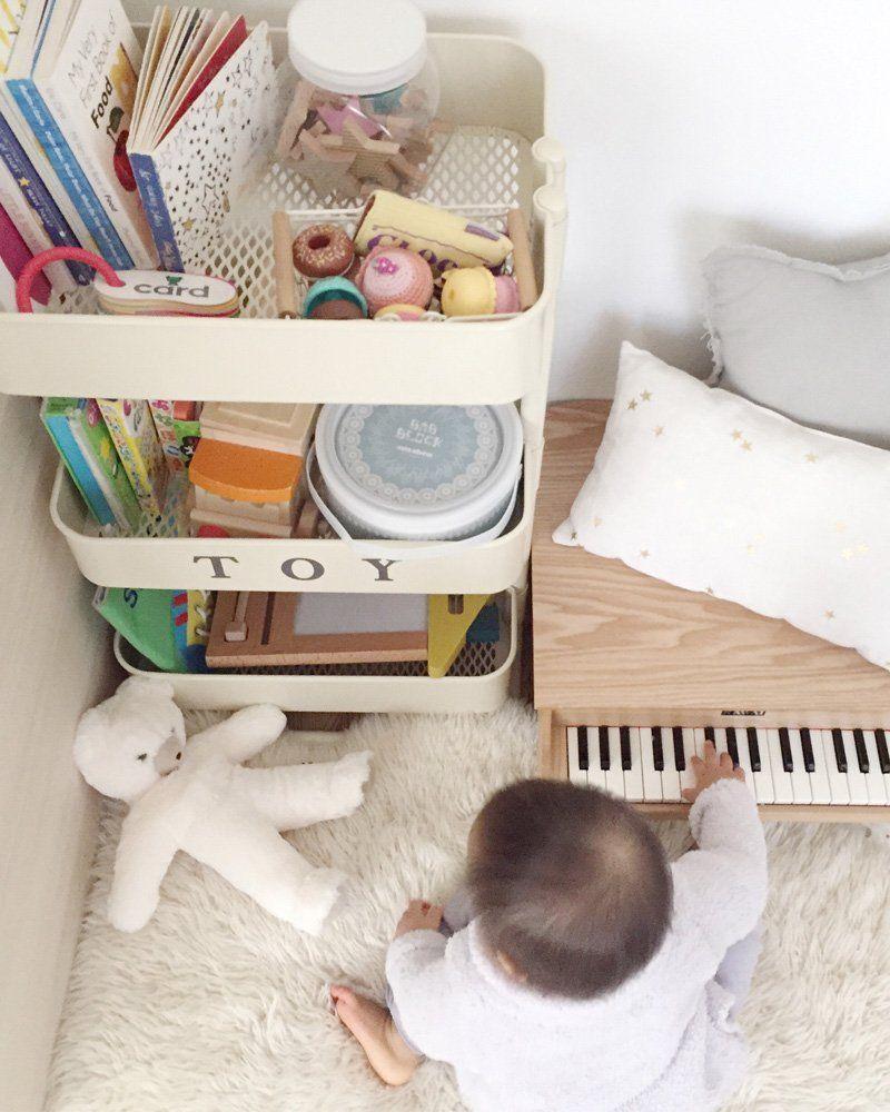 IKEA RASKOG Hack Ideen für Kinder mit dem Servierwagen