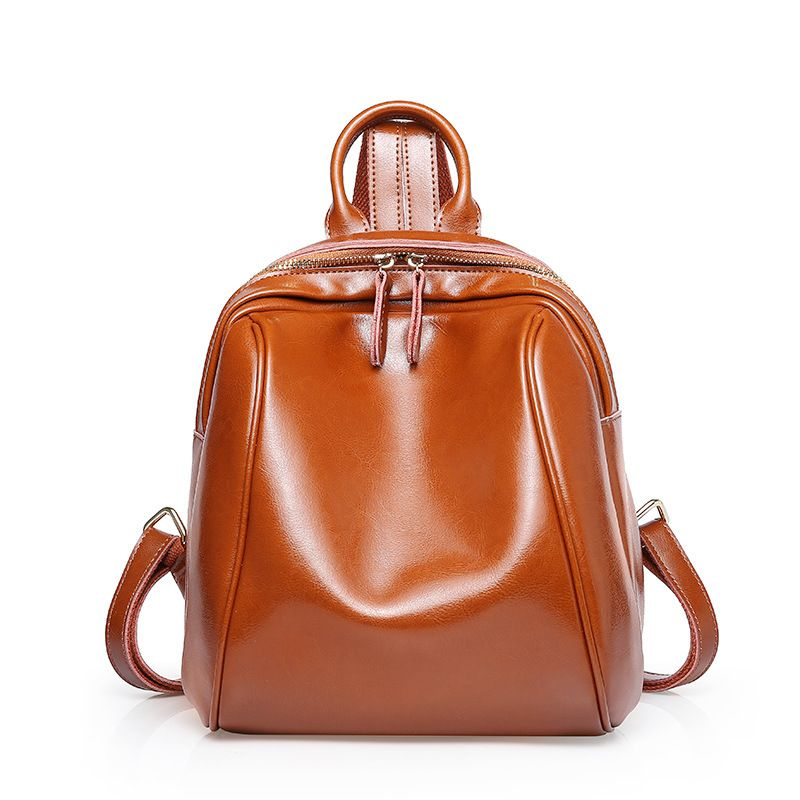 4344993f3f78 Wholesale custom logo genuine leather backpack travel backpack girl s  packsack made in China