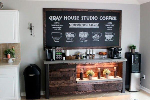 Einzigartiges Zuhause Kaffee Bar Küche Ideen Umbau Pinterest - küche mit bar
