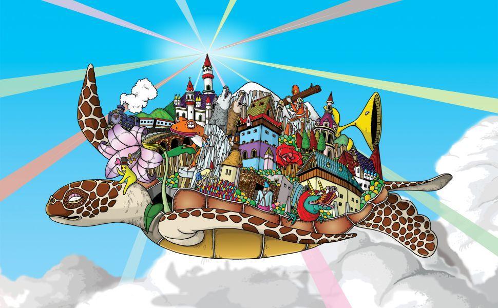 Windows 7 Turtle Hd Wallpaper Turtle Wallpaper Cartoon Wallpaper Turtle Art