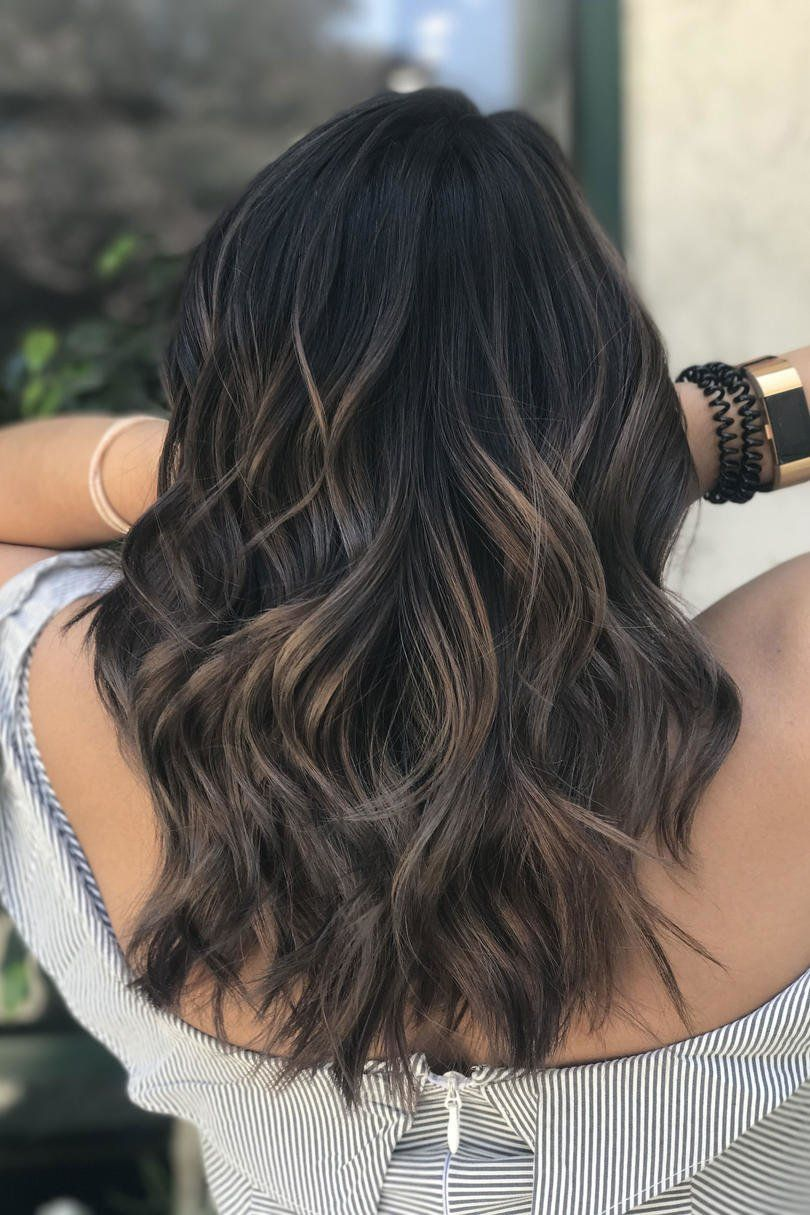 mushroom brown hair is trending for 2018—and it's much prettier than