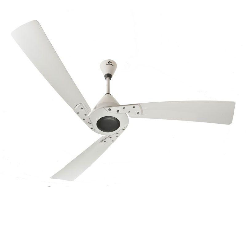Shop Bajaj Euro 1200mm Ceiling Fan White At Urjakart Com With