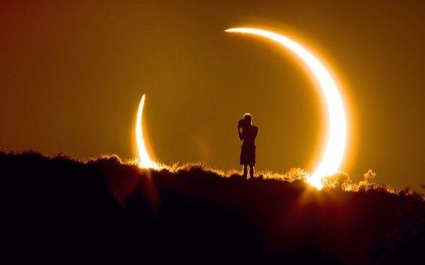 Затмение на фото | Солнечное затмение, Новолуние, Природа