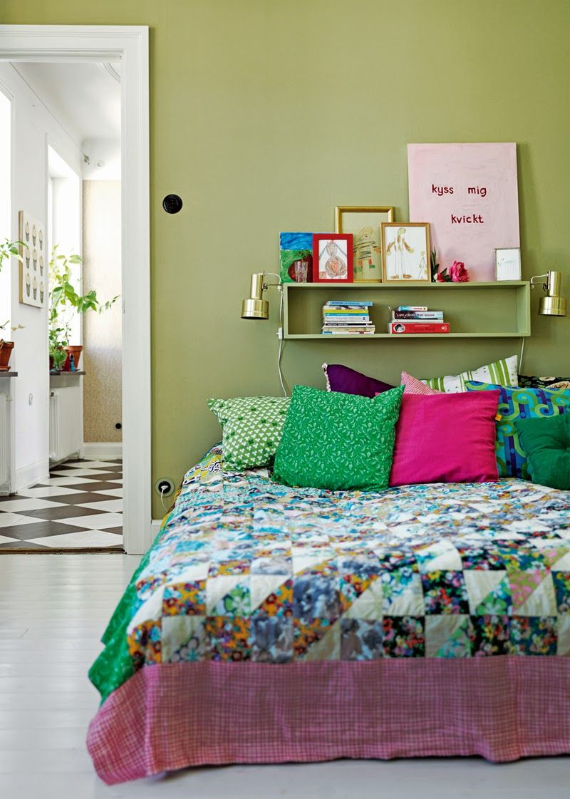 我們看到了。我們是生活@家。: 瑞典Aronsson Jensens一定很喜歡綠色!