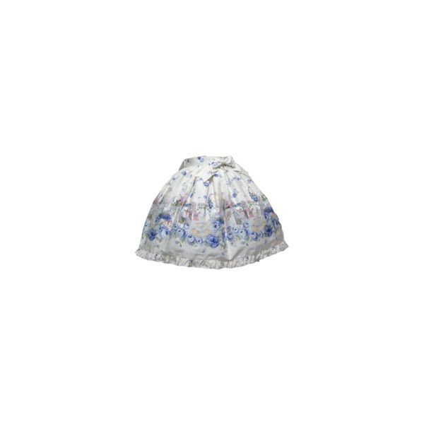 Blooming Garden Skirt: Metamorphose temps de fille ❤ liked on Polyvore featuring bottoms