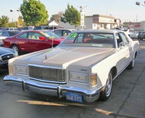 1977 mercury grand marquis cheap classic car under 1000 near los angeles ca low mileage. Black Bedroom Furniture Sets. Home Design Ideas