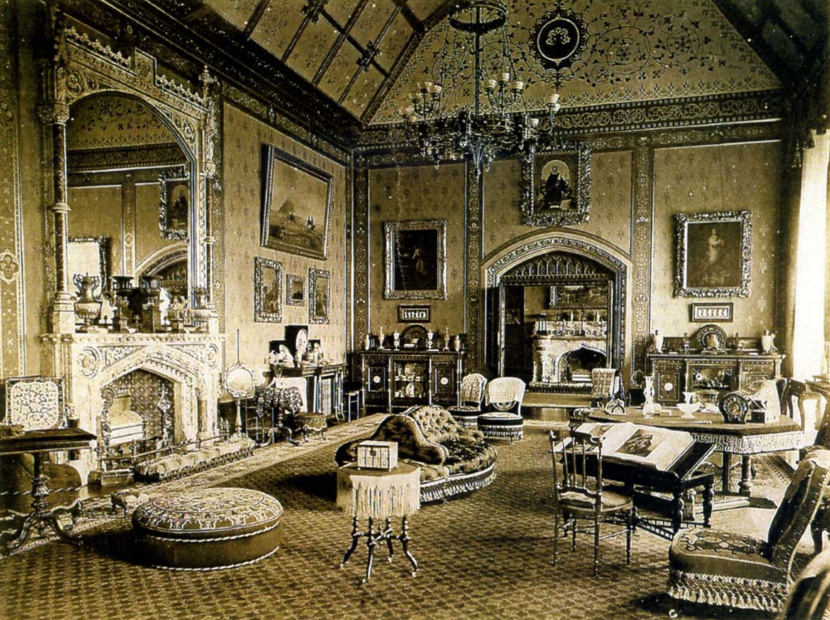 Tyntesfield Wikipedia The Free Encyclopedia Victorian Interiors Victorian Homes Mansion Interior