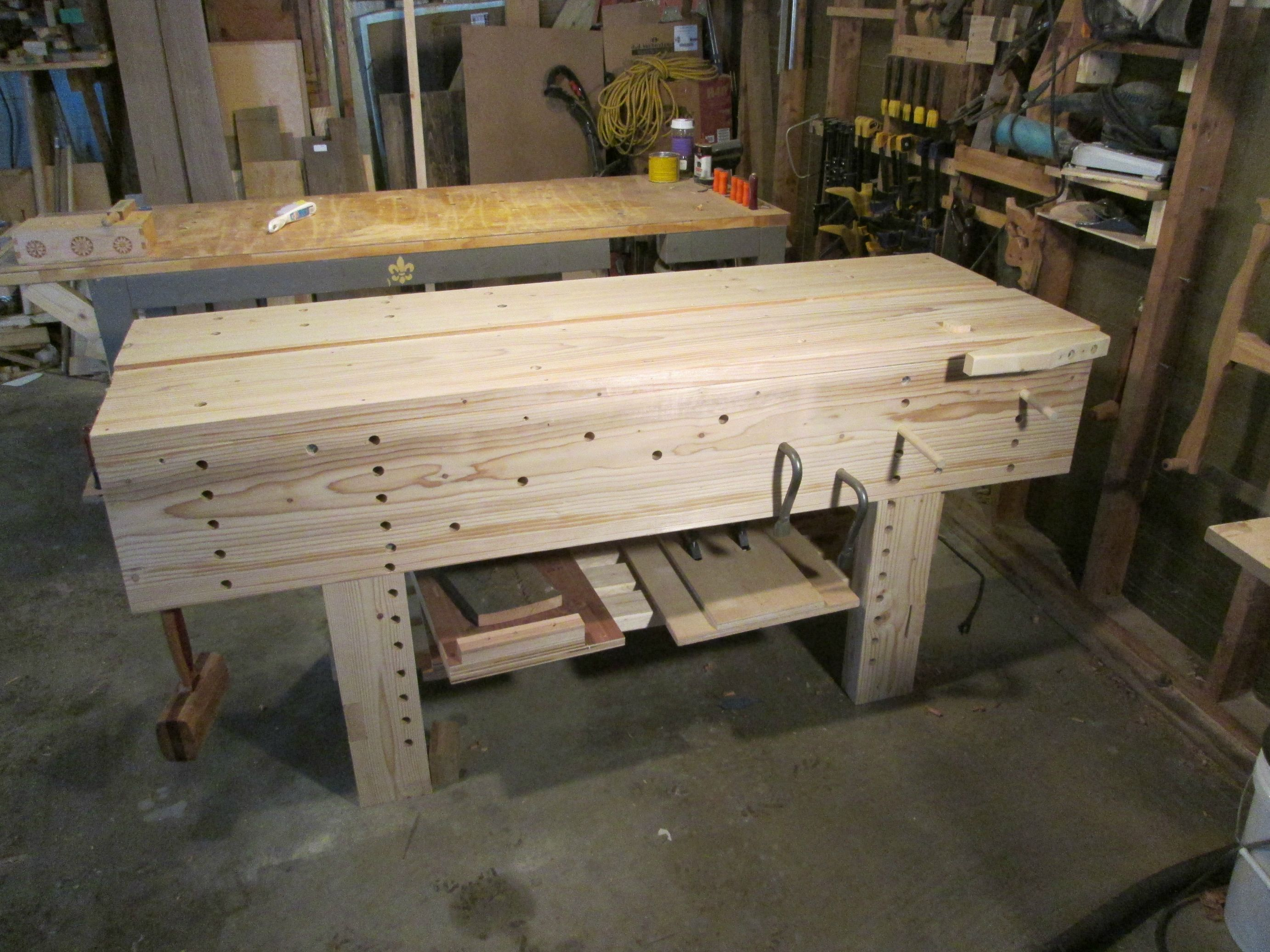Traditional English Style Jointers Bench Woodworking In