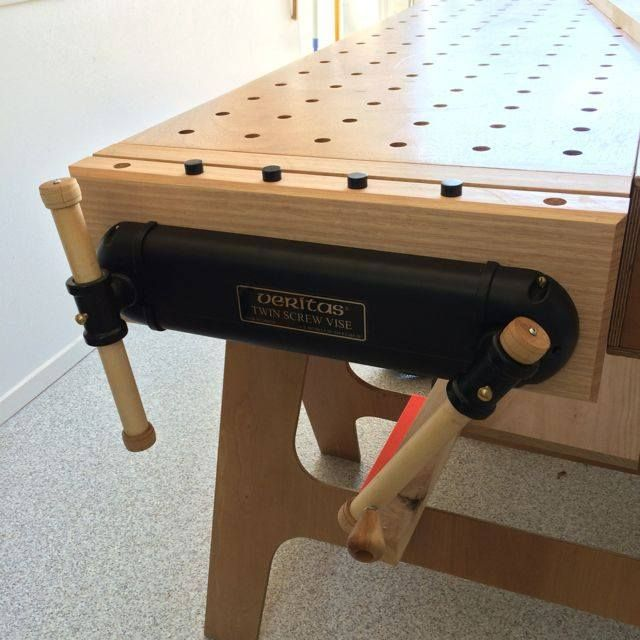 Ron Paulk Workbench Vise Workshop In 2019 Paulk