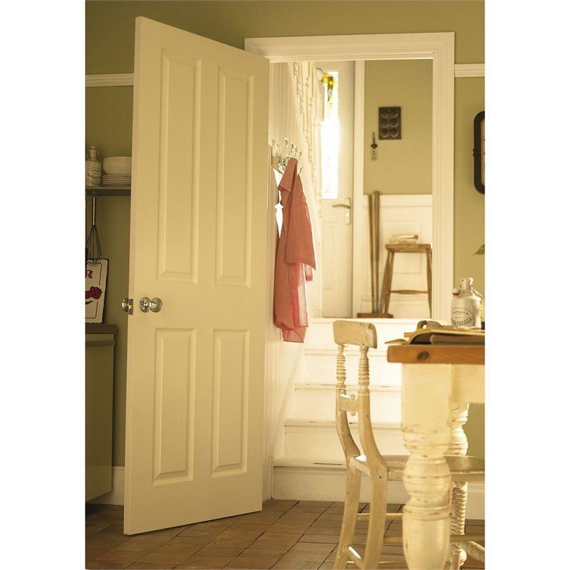 Find London 4 Panel Primed White Internal Door - 762mm Wide at Homebase. Visit your  sc 1 st  Pinterest & Find London 4 Panel Primed White Internal Door - 762mm Wide at ...