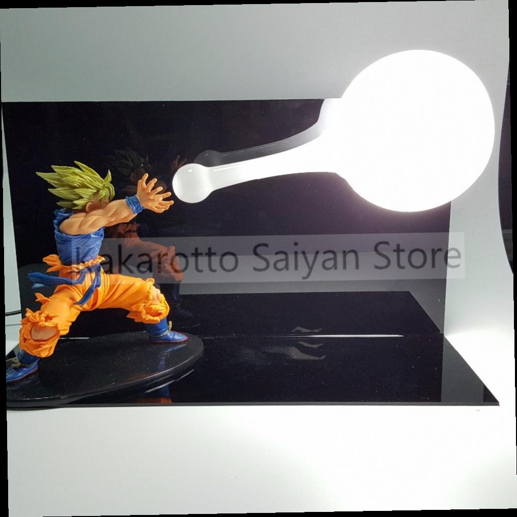 52.32$  Watch now - http://ali989.worldwells.pw/go.php?t=32757275078 - Dragon Ball Z Son Goku Figure Super Saiyan Kamehameha Anime Dragon Ball Z Action Figures Model Toy DBZ +Bulb+Base 52.32$