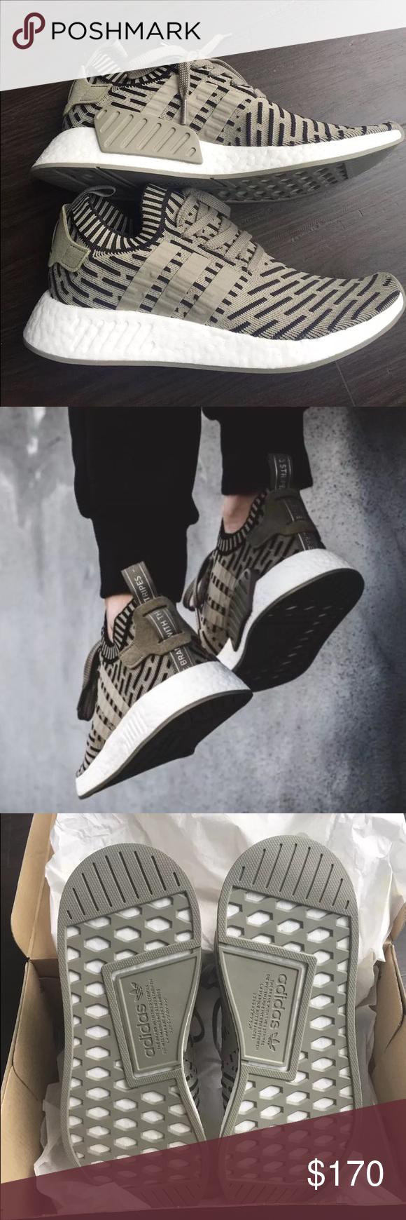 nwb adidas nmd r2 primeknit scarpe uomini '10 ba7198 nwt adidas nmd