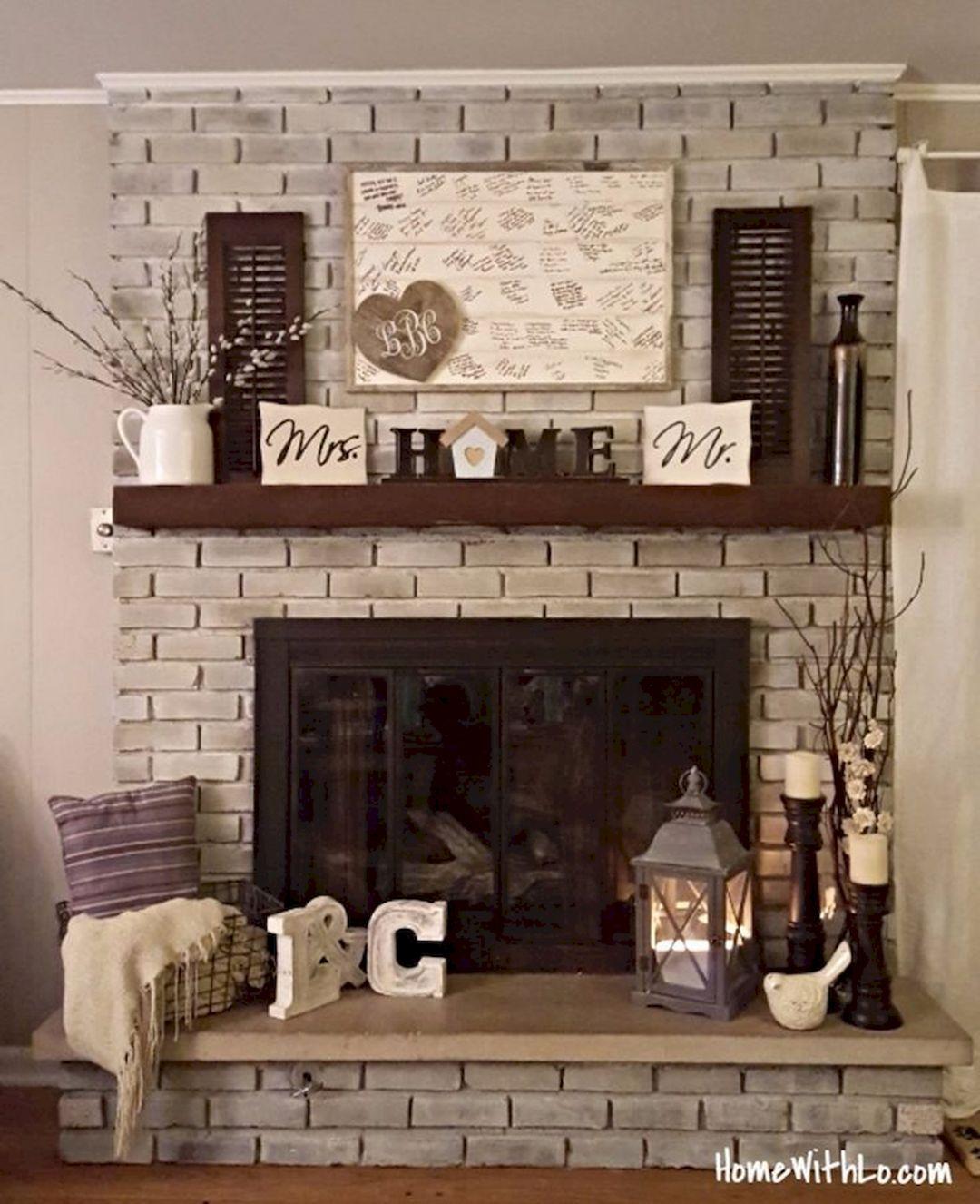 Brick Fireplace Ideas Home Fireplace Fall Fireplace Decor