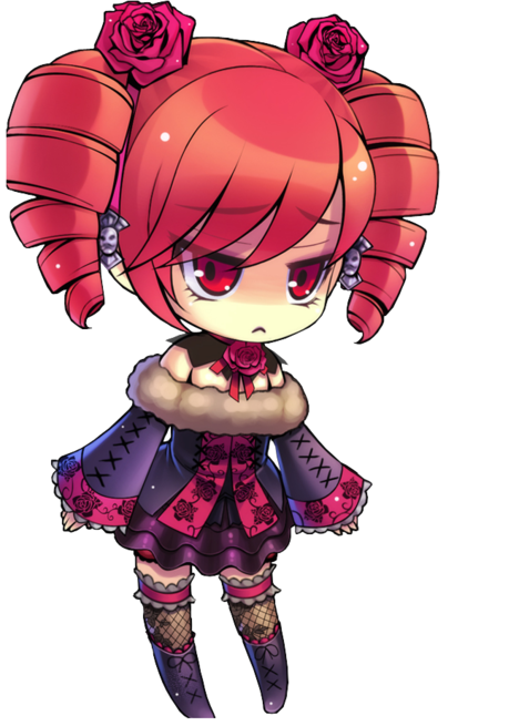 Chibi Fille Stylée Anime Anime Chibi Personnages D