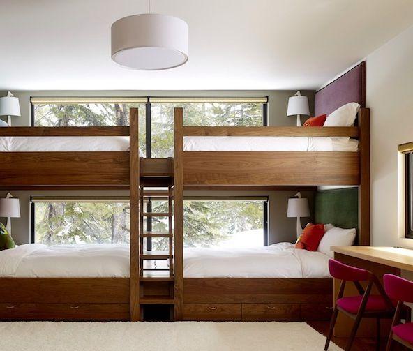 bunk bed ideas   Bunk Bed Ladder Ideas