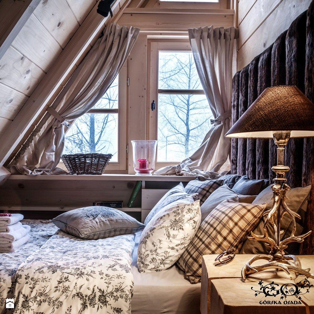 Sypialnia Styl Rustykalny Zdjęcie Od Górska Osada Luxury