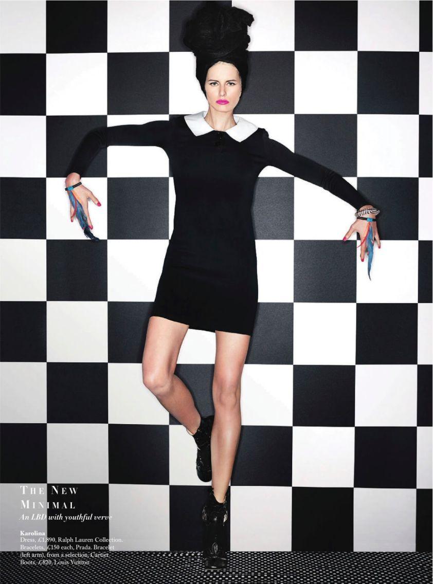Carine\'s Edit for Harper\'s Bazaar UK March 2014 | March, Harpers ...