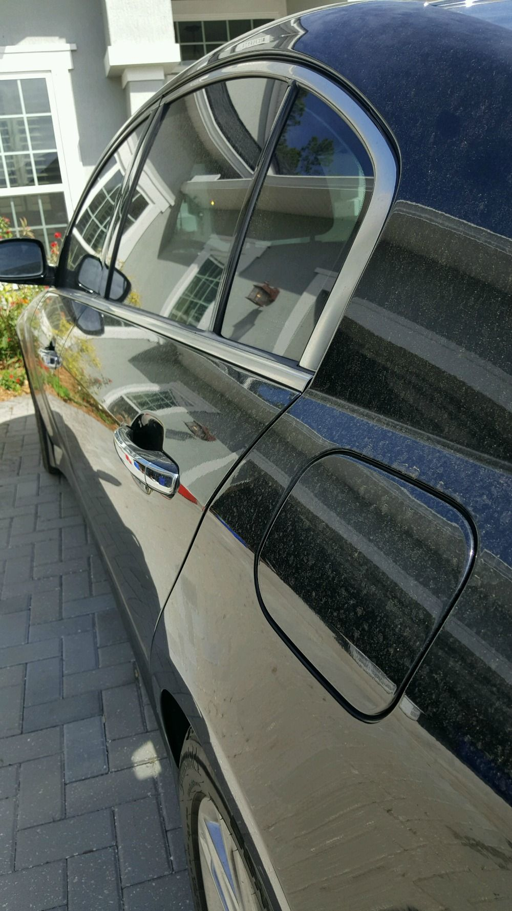 Complete instructions to remove hard water spots from car