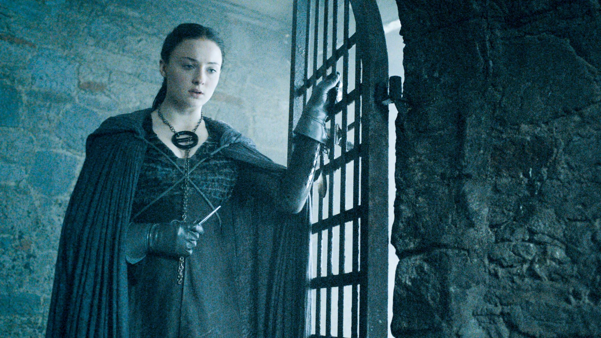 Game of Thrones Season 5 - Lady Sansa, oh I hope she gets a chance to use that daggar!